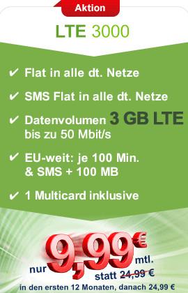Maxxim Allnet Flat für 9,99 €
