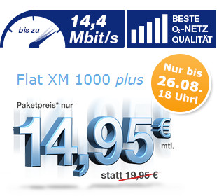 Simply Allnet Flat Aktion mit 1GB