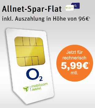 Talkline Allnet Flat für 5,99 €
