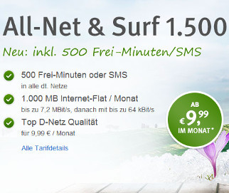 WEB.DE All-Net & Surf 1.500