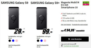 Galaxy S9 Plus Telekom Allnet Flat Vertrag Saturn Media Markt