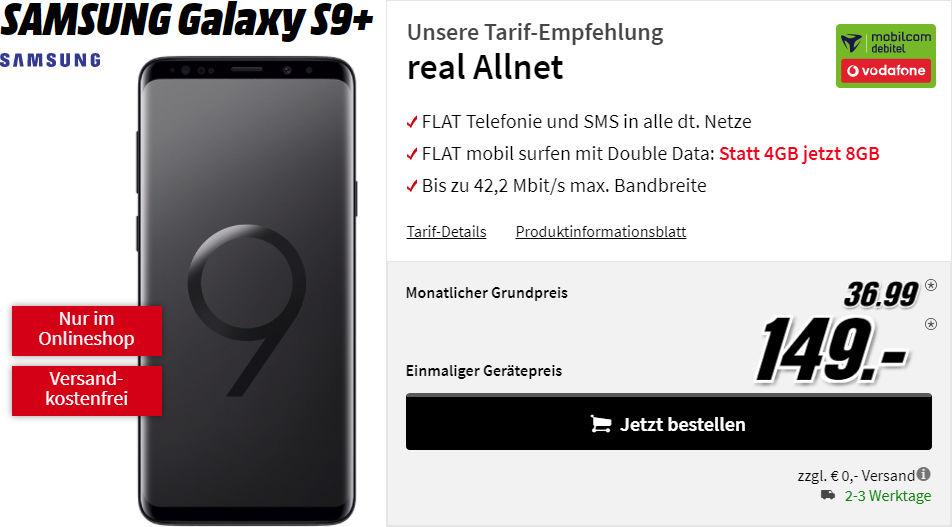 Galaxy S9 Plus Vertrag Media Markt Saturn