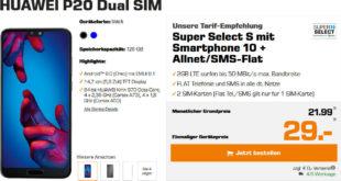 Huawei P20 Super Select Allnet Flat Vertrag