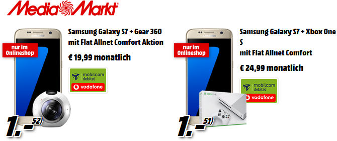 Media Markt Saturn Galaxy S7 Vertrag